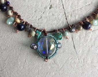 Crystal Boho Necklace