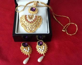 Vintage Shaill Jhaveri for Avon Set Elizabeth Taylor Collection