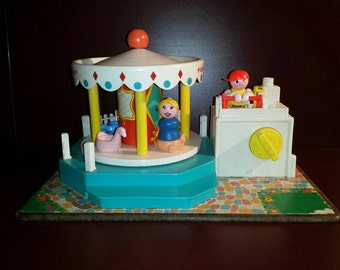 Fisher Price Merry - Go - Round 1972