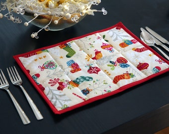 2 pack Christmas placemats