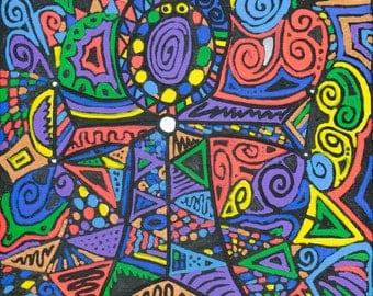 Colourful Life Postcard