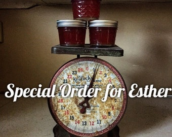 Special Order: Strawberry Jam wedding Favors