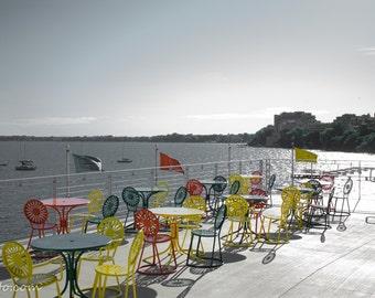 Memorial union sunprint chairs lake mendota university of for Mendota terrace madison wi
