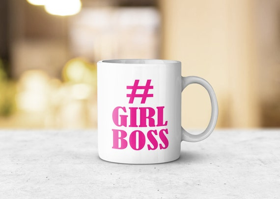 Girl Boss Mug - Unique Mug, Gift Idea, Gift for Him, Gift for Her, Coffee Lover Gift, Tea Lover Gift