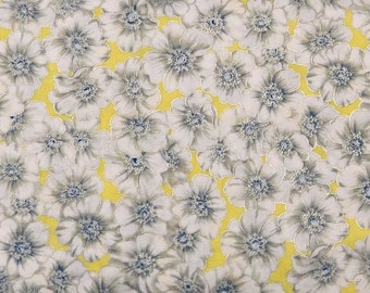 Blank Quilting - Blooming Blossoms - Yellow with Small Flowers - BTR4755-M-Yellow - 1 Yard
