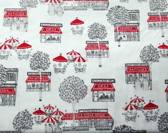 Blank Quilting - City Limits - BTR4805-White - 1 Yard