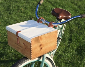 Bike Wine Crate Basket
