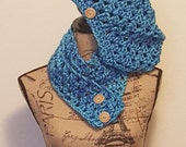 slouch hat, slouchy hat, scarf, infinity scarf, cowl, chunky hat, chunky scarf, crochet, handmade, smoke free home, gift for her