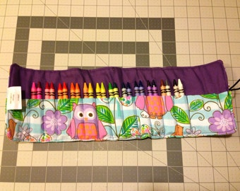 24ct crayon roll
