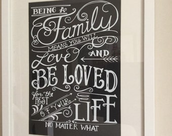 Family love quote