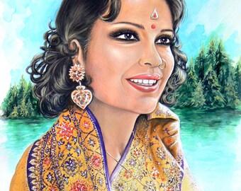 Zeenat Aman, Bollywood Star - No. 1