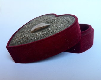 Vintage Jewelry Box Victorian Revival-vintage Jewelry-Victorian Revival