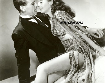 Gary Cooper Barbara Stanwyck Kiss Hollywood Poster Art Photo Artwork 11x14 or 16x20