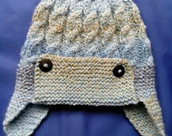 Baby Aviator Style Hat