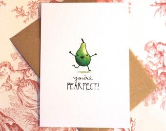 Cute Pear Card