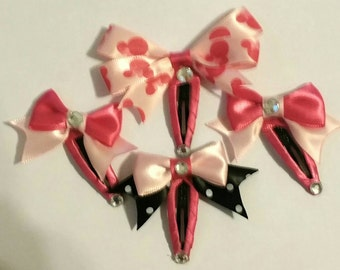 Minnie Mouse Barrett Hairbows