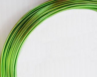 Aluminum wire Green 1 mm voice coil 6 mt