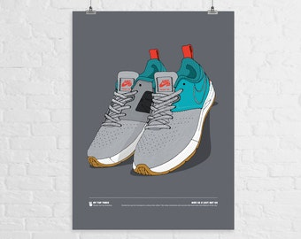 Nike SB x Lost Art BA A3 Print