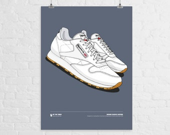 Reebok Classic Leather A3 Print