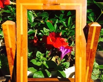 Vintage Art Deco Wooden Picture Frame / Antique Picture Frame