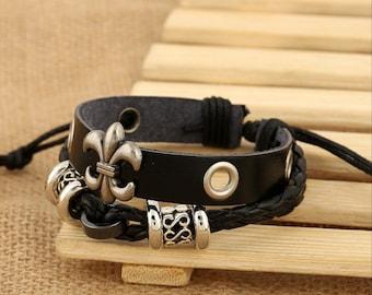 New Fashion Leather Bracelet