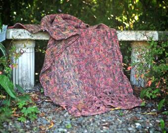 Tunisian Crochet Shawl/Lap Blanket