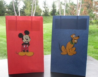 Mickey Mouse Party Goodie Bags - set of six