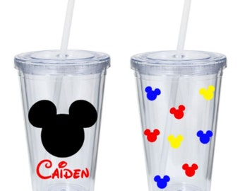 Mickey Mouse Personalized Tumbler