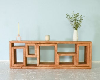 Sideboard from recycled lumber ZWEIKESE