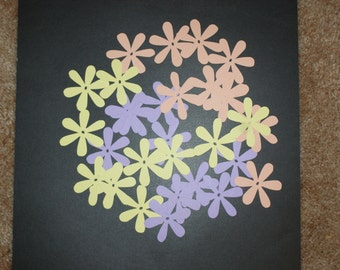 Flower paper die cuts