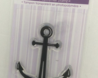 Anchor Clear Stamp