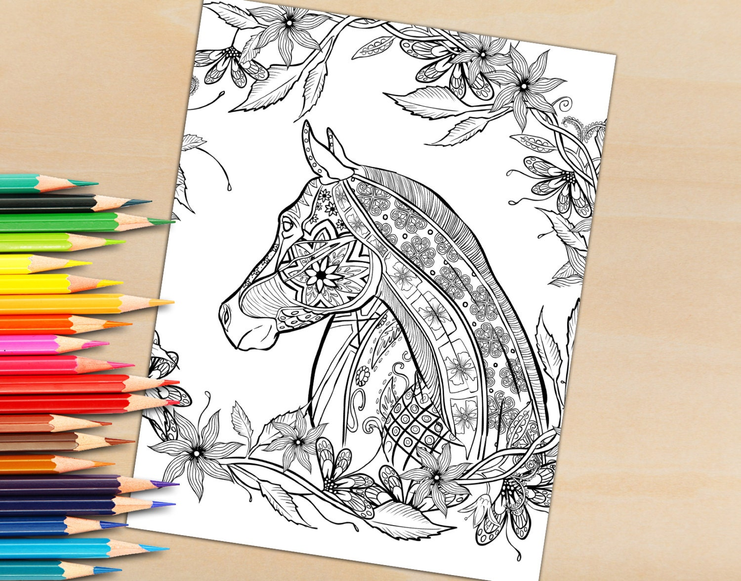 Adult Coloring Book Page From For Adults