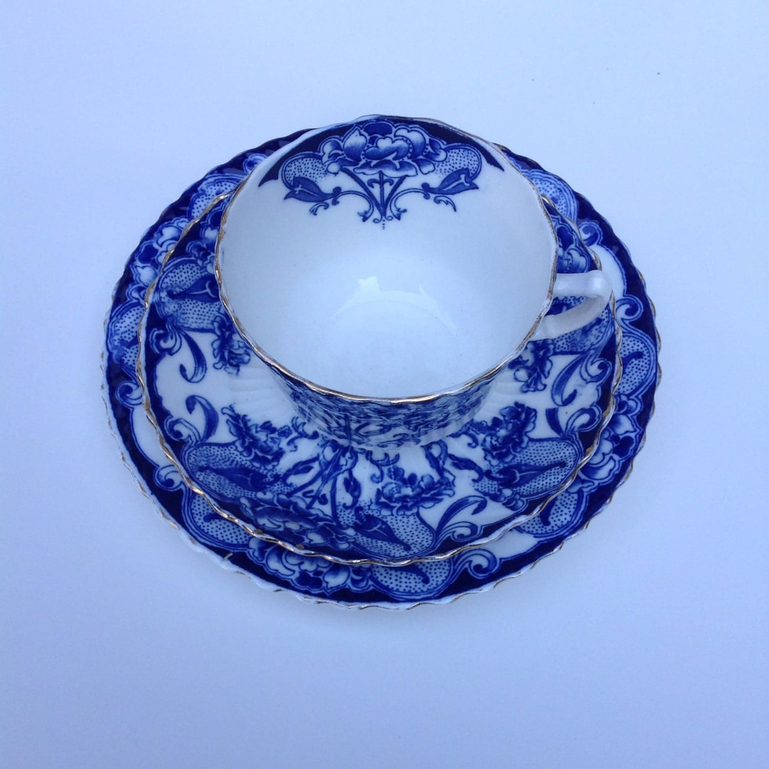 Flow Blue Dishes 108