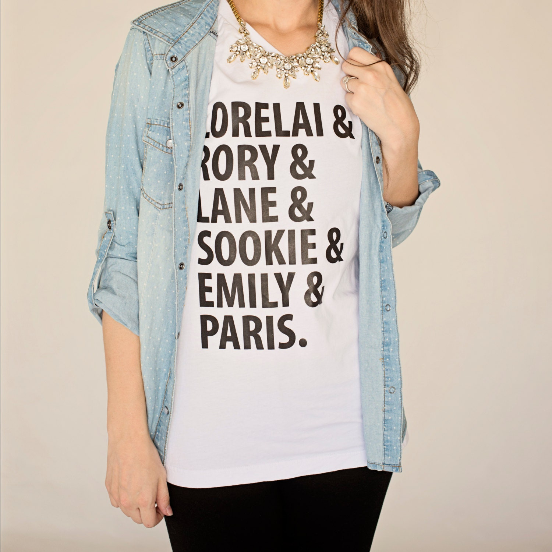 gilmore girls shirt girls of gilmore shirt