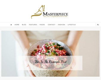 MasterPiece Blogger Template - Responsive Blogger template