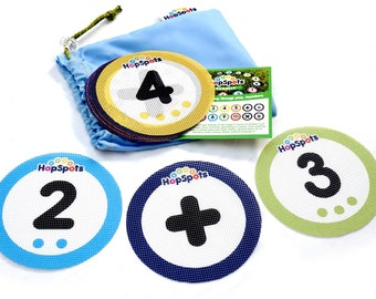 Hopspots - Numbers - Children's educational toy