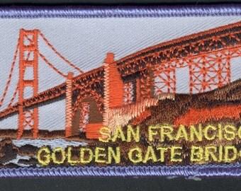 San Francisco Patch Golden Gate Bridge Bay Area Northern California CA