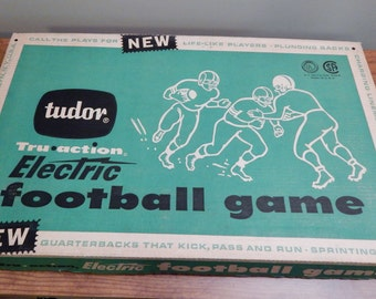 Tudor Tru-Action Electric Football Game #500