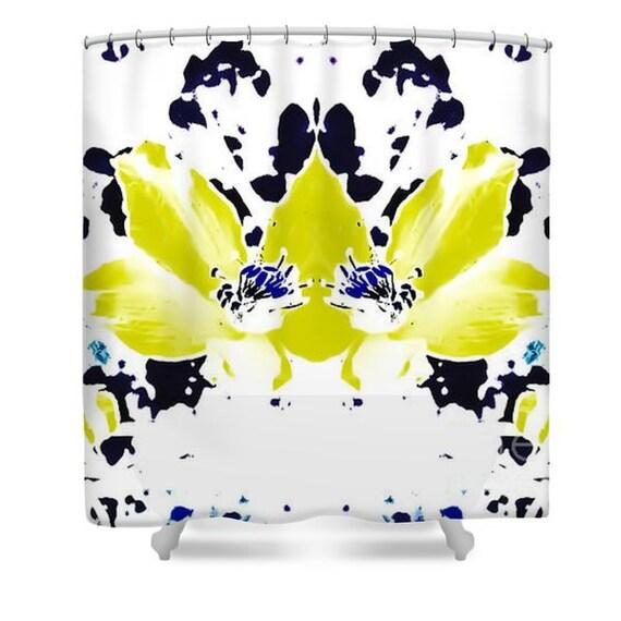 Floral Shower Curtain, Bathroom Curtain,Bathroom Decor,Unique Shower ...