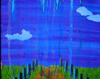 """Acrylic on Canvas (20"""" x 16"""")"""