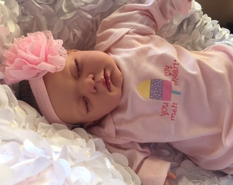 Brand New Reborn Lotty Child Friendly Realistic Newborn Fake Baby Doll Girl