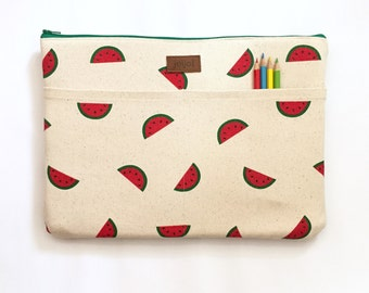 MacBook Pro Sleeve 15, MacBook Sleeve 15, MacBook Cover, 15 Inch Laptop Sleeve, 15 Inch Macbook Sleeve - Mini Watermelon