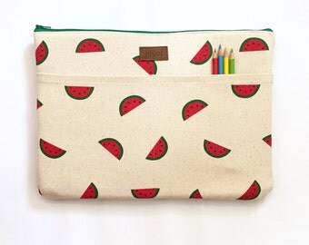"11 Inch Macbook Air Sleeve, 11 Inch Macbook Air Case, Laptop Sleeve 11.6"", 11 Inch Laptop Case, HP Stream, Acer Chromebook - Mini Watermelon"