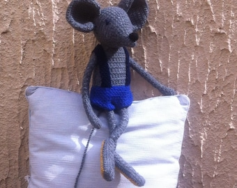 Armand the mouse wool