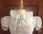 Regency Chemisette with frilled collar - Ready to Ship