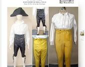 Men's Regency Breeches Laughing Moon Sewing Pattern