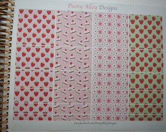 Cute Strawberry Assorted Washi Tape Stickers