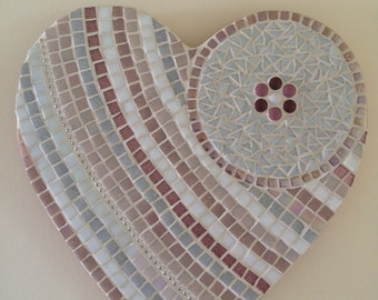 Be Mine - Handmade Heart Mosaic