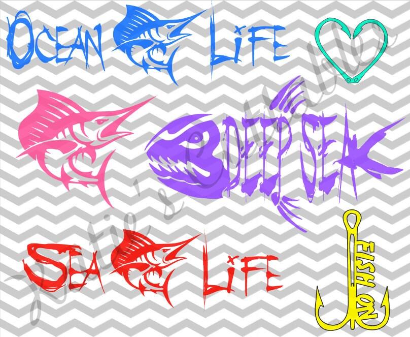 Salt water fishing deep sea fishing ocean life sea life for Lifetime fishing license ok
