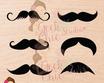 Mustache, Digital Props, Props, Mustache digital, Mustache Photo Booth, Mustache props, Printable Mustache,  Photo Booth props